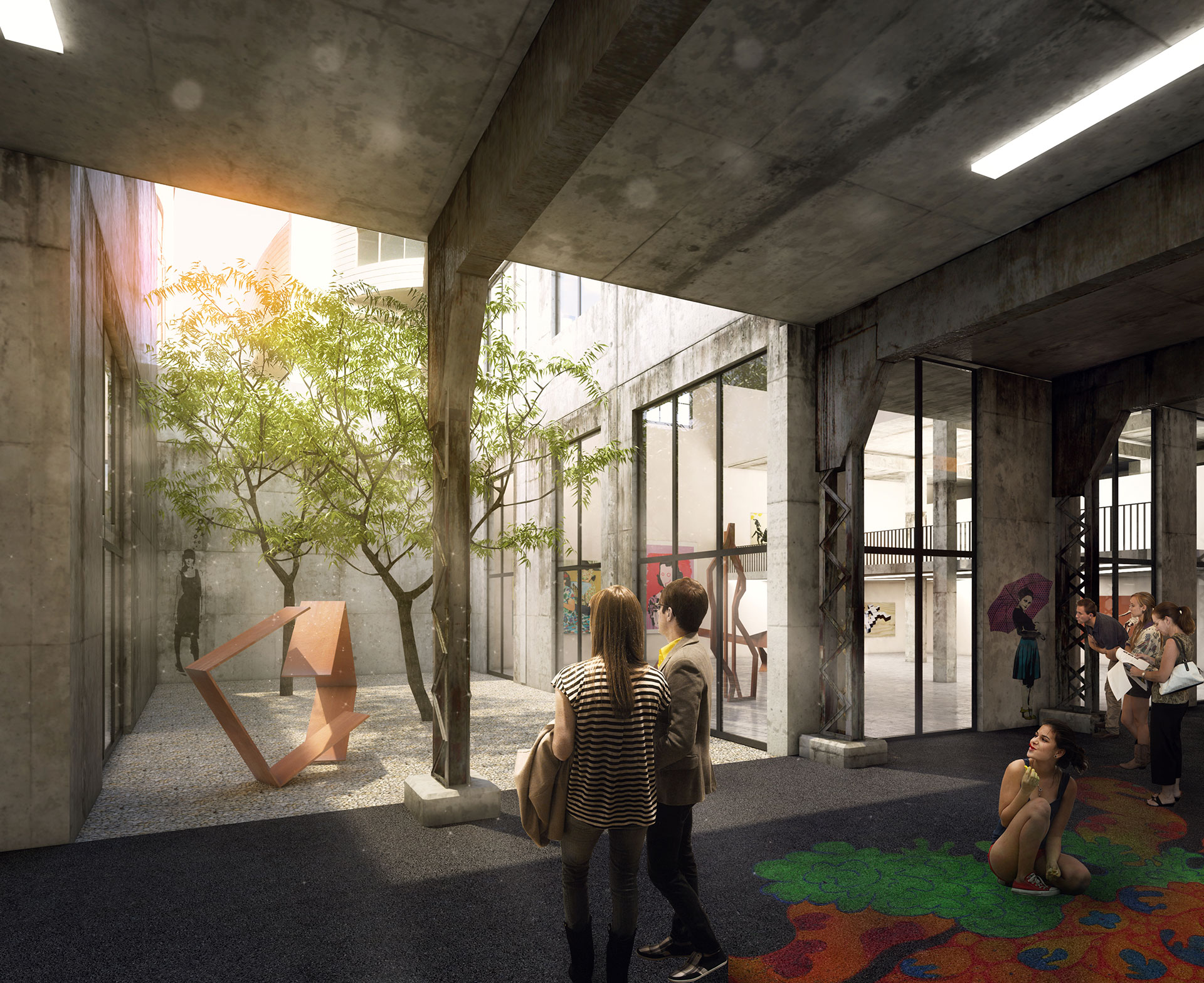 Competition - 1.Prize / Beirut, Lebanon / RAA architects
