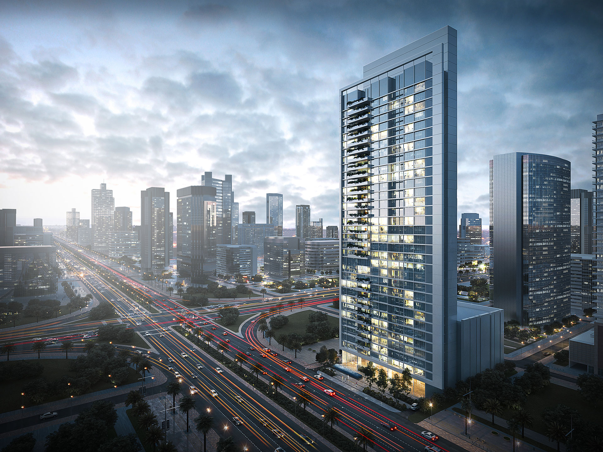 Office Tower / MNA international