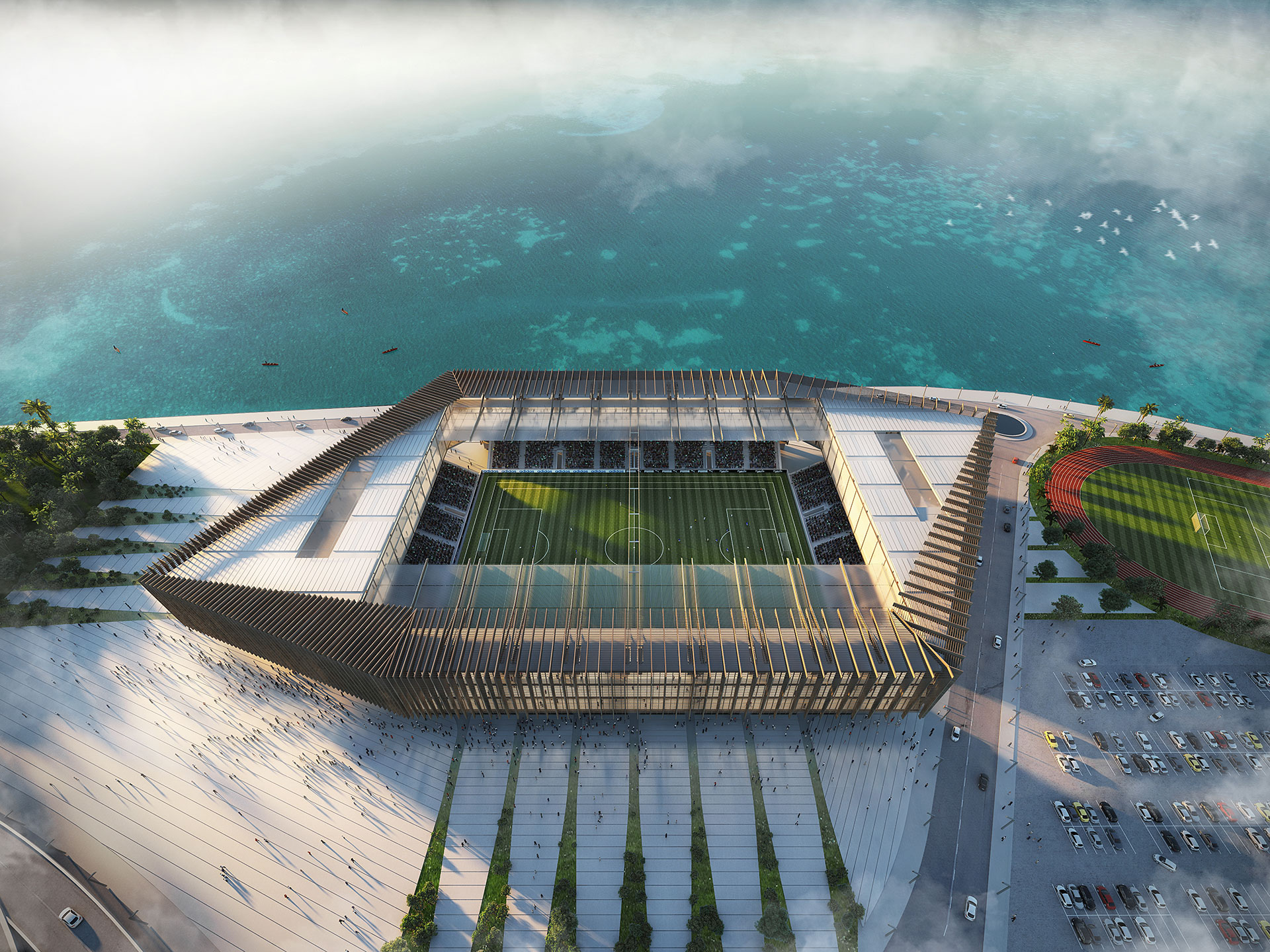 Mixed-Use Arena Lagos / Competition Winning Entry / EAST