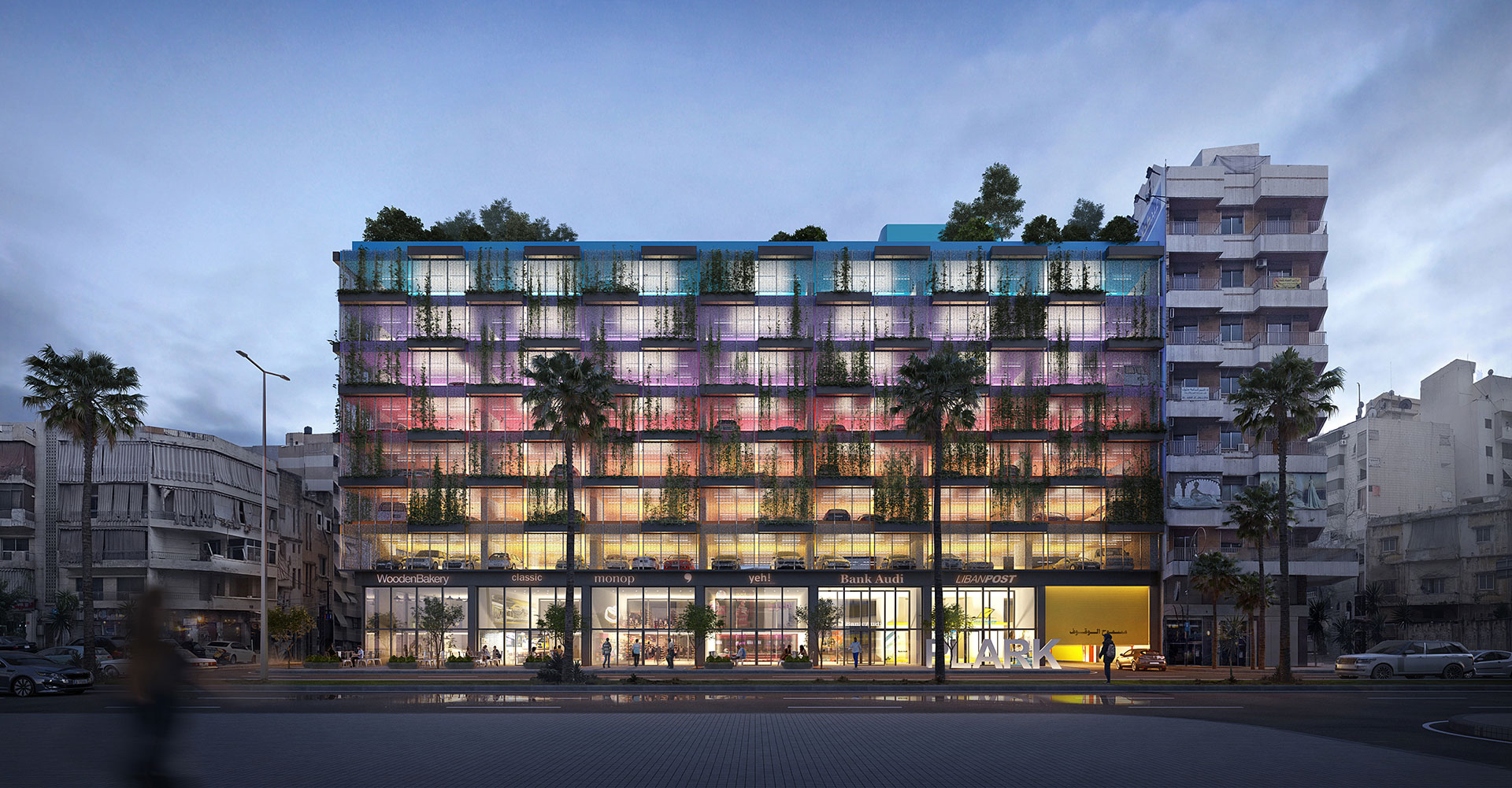 Parking Structure / Beirut / Laceco