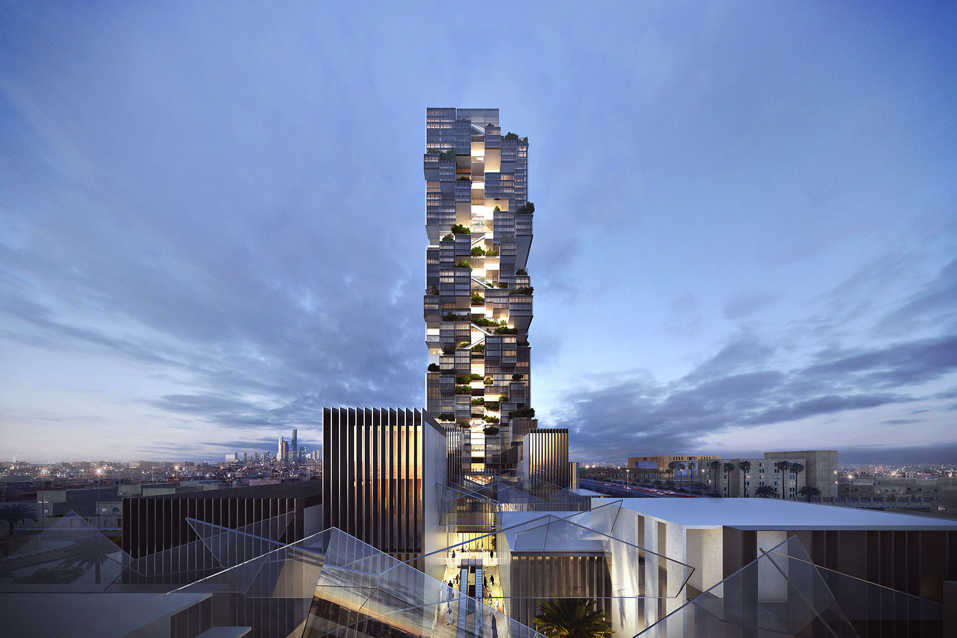 Mixed-Use Building / 109 Architects