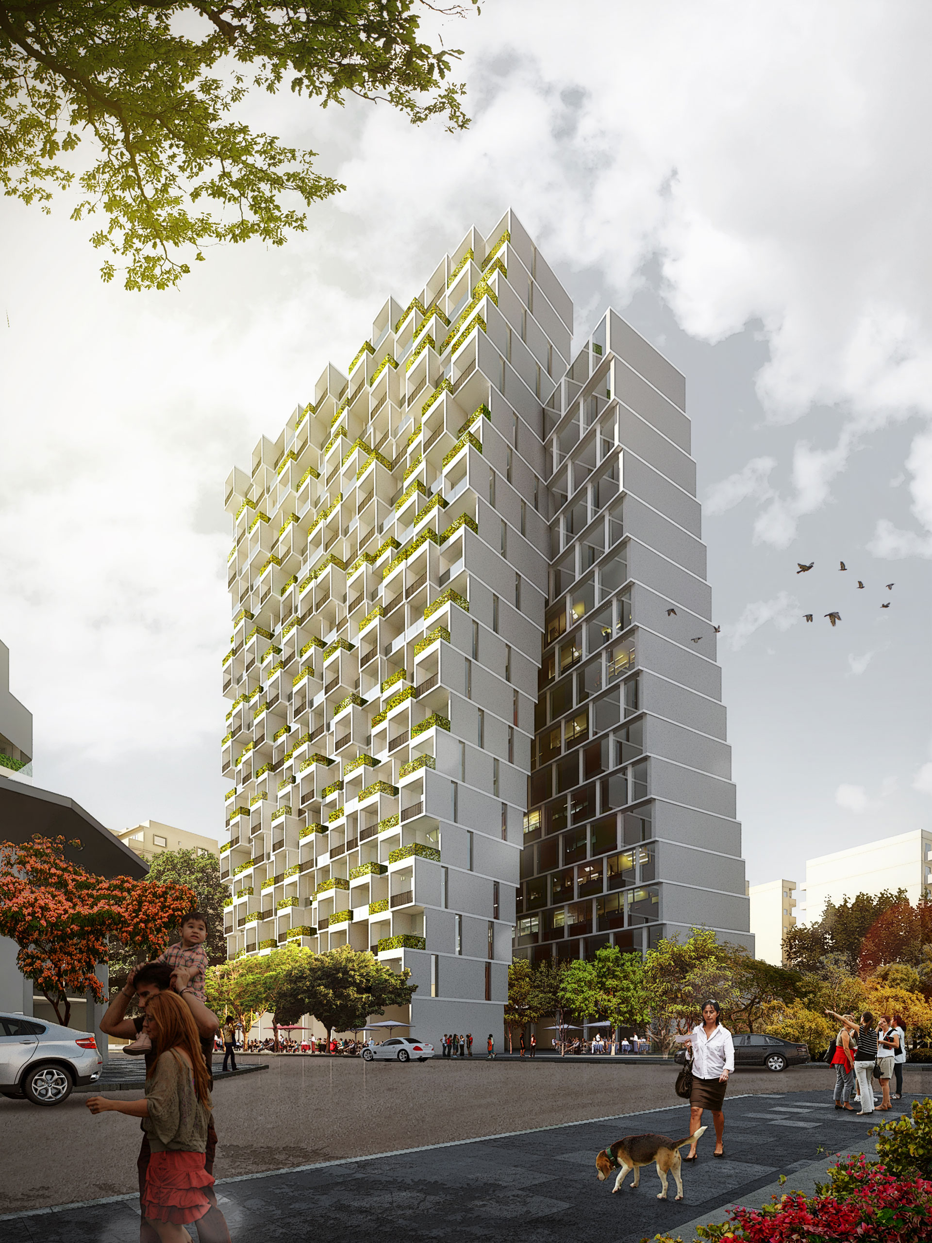 Mixed-Use Building / Beirut, Lebanon / IGA