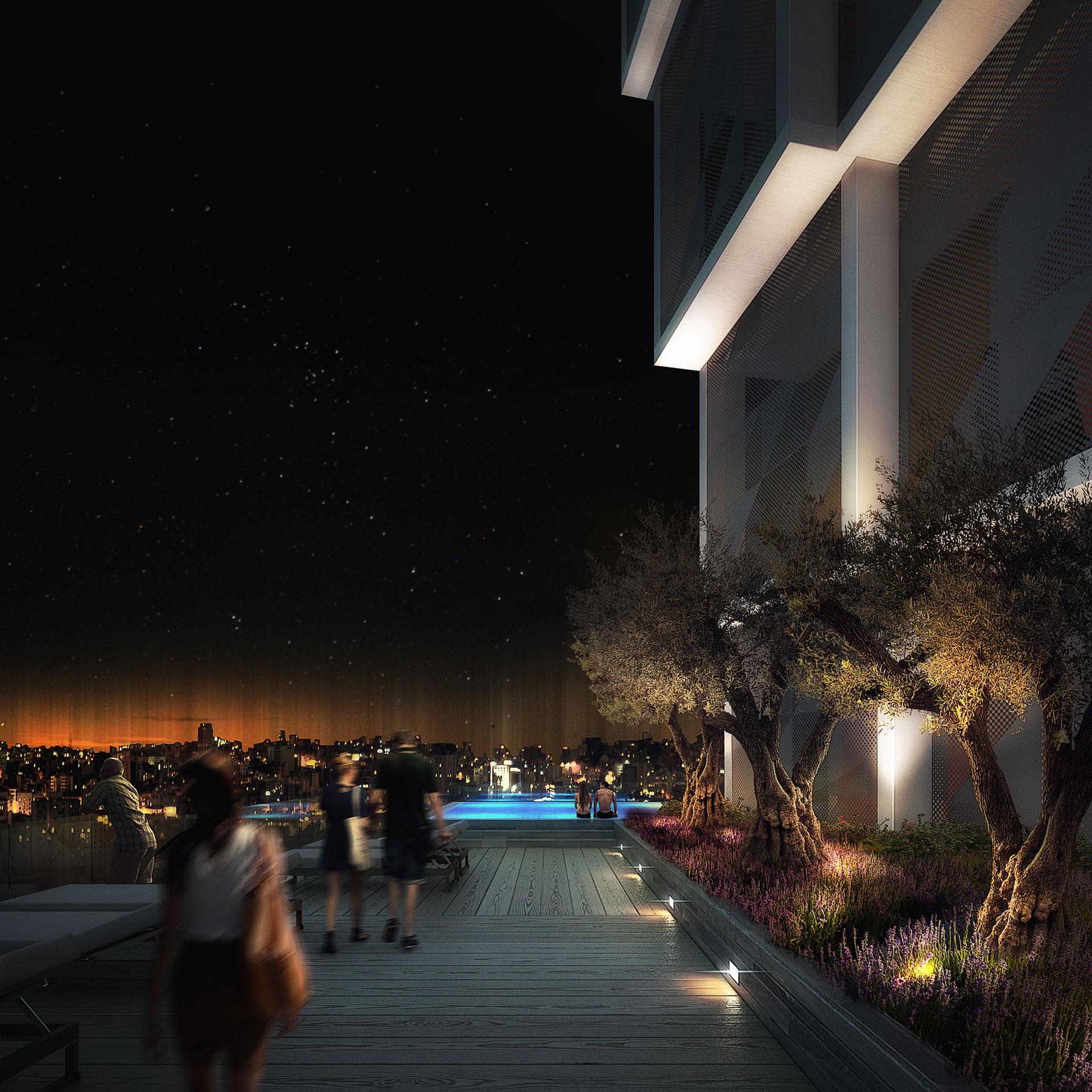 Mixed-Use Building / Beirut, Lebanon / IGA