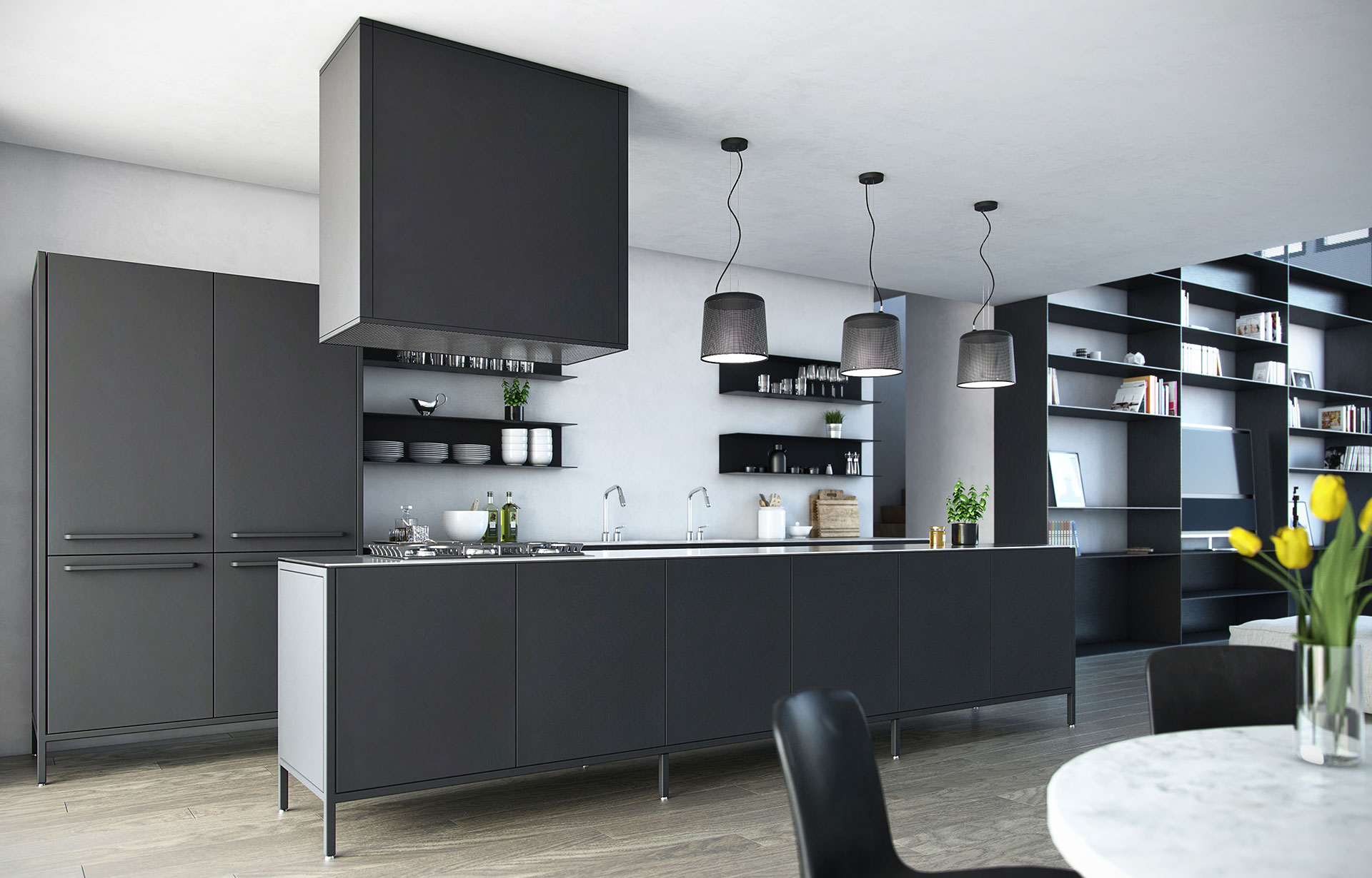 Kitchen Interior / RAA
