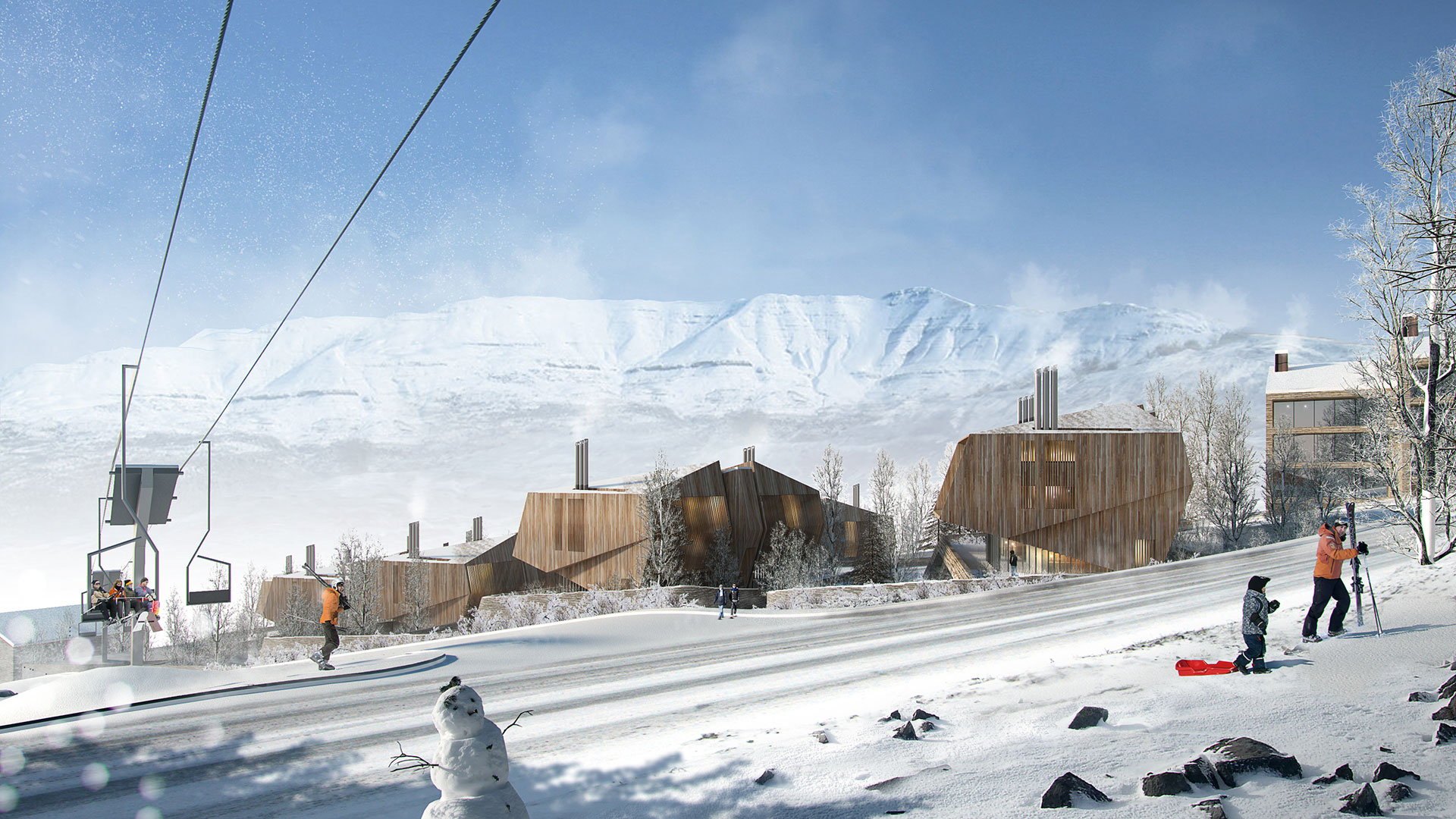 Mountain Residences / Lebanon / EAST