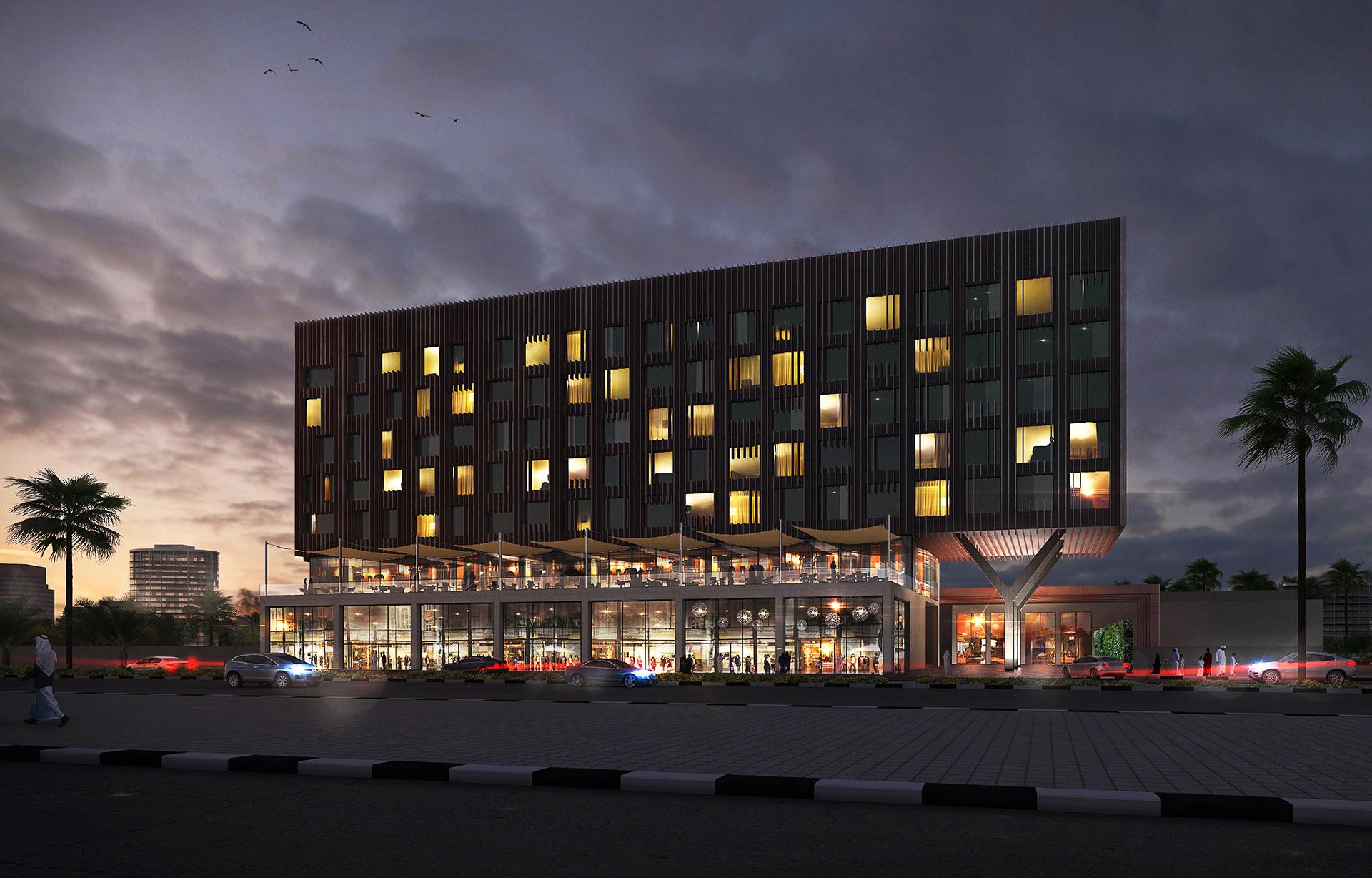 Hotel / KSA / Paralx