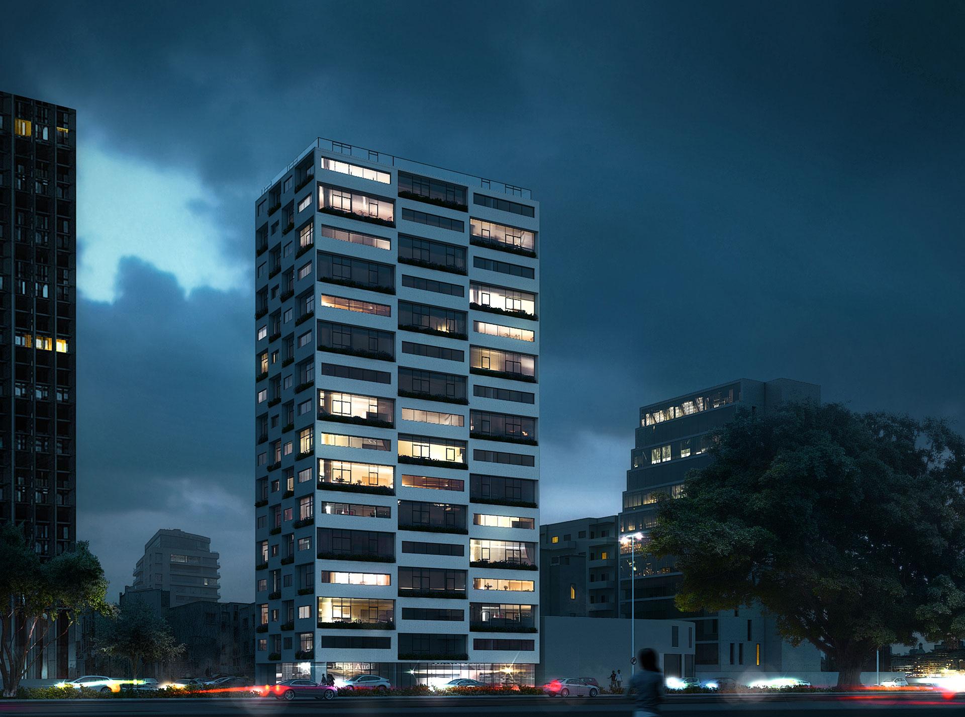 Residential Building / Beirut / Mohamad Makkouk