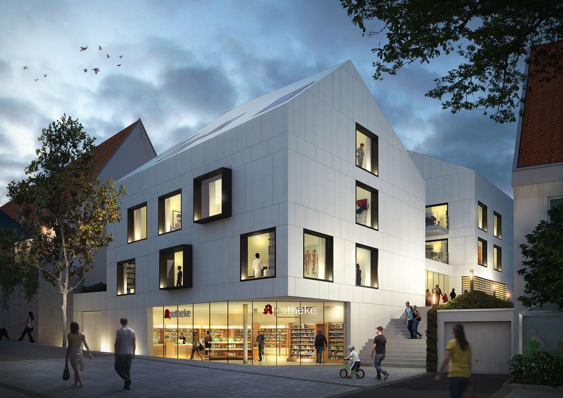 Residential Development Korntal-Münchingen / Germany / Kubus 360