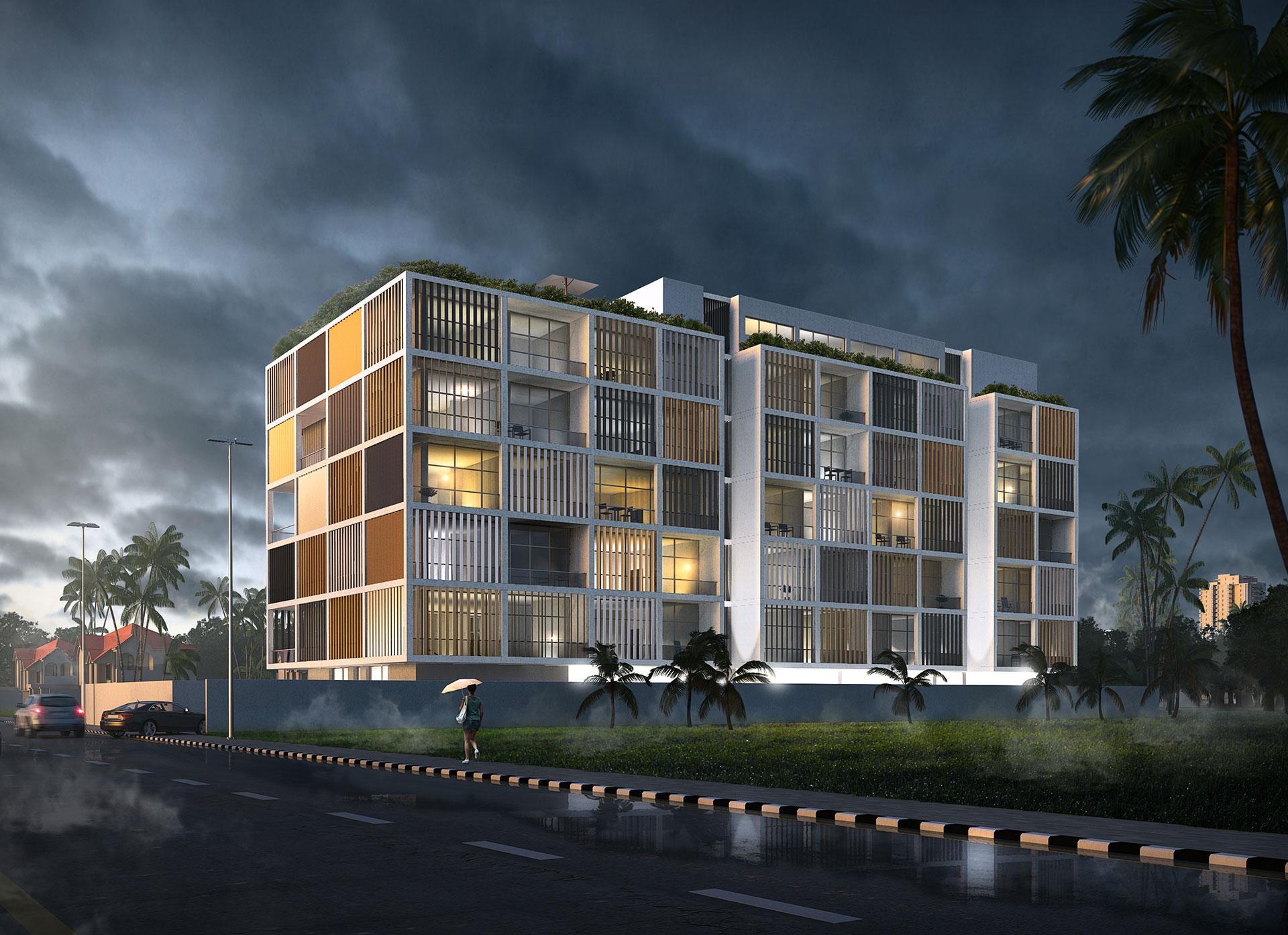 Residential Building / Lagos - Nigeria / Mohamad Makkouk