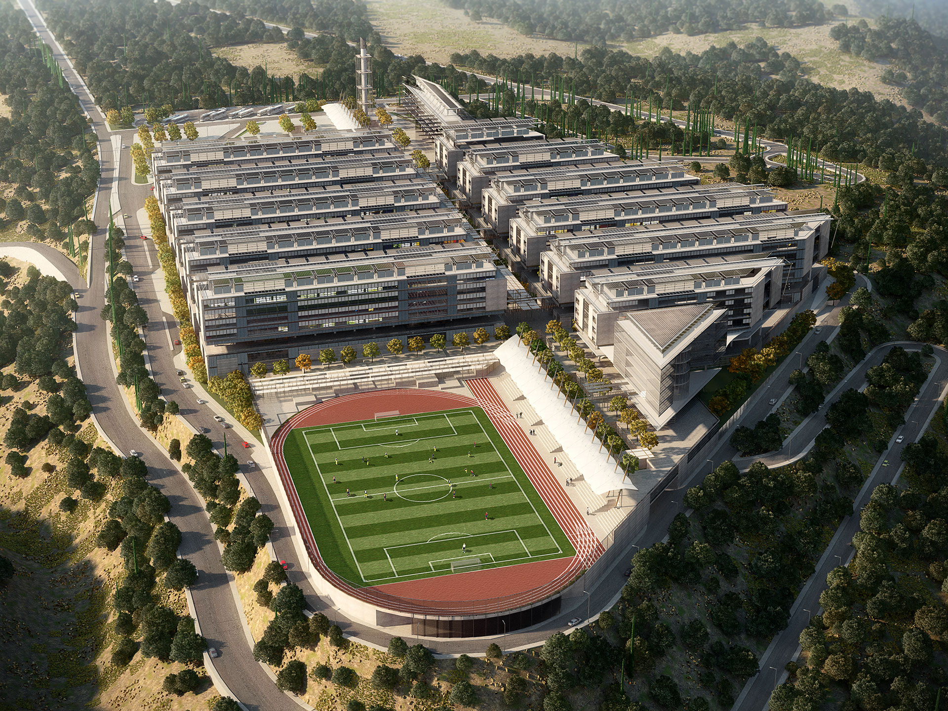 Lebanese University North Campus / Lebanon / Laceco