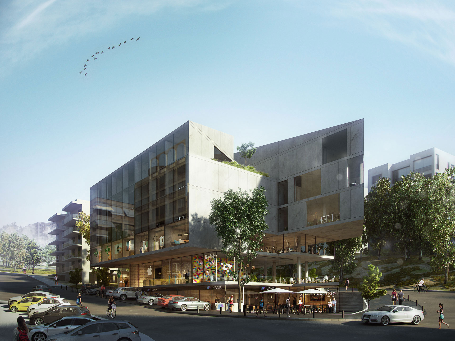 Mixed-Use Building / Beirut, Lebanon / 109 Architects