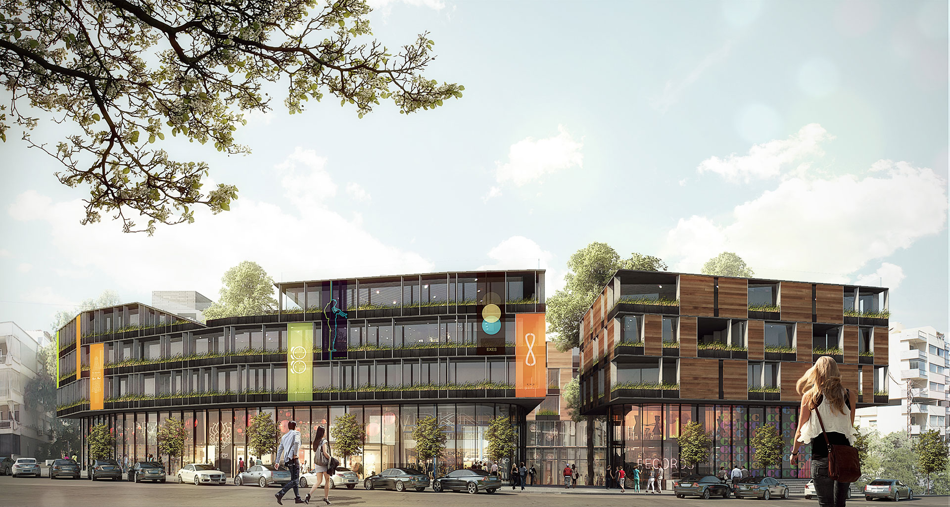 Mixed-Use Building - Competition 1st prize / Beirut, Lebanon / 109 Architects