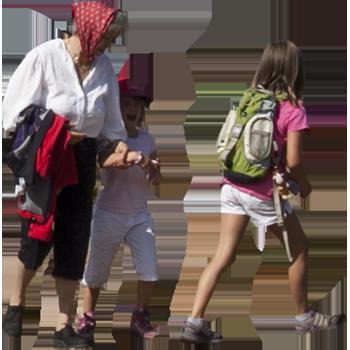 Imagenatives 0005 group hiking cutout