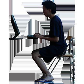 Imagenatives 0007 sitting-computer cutout