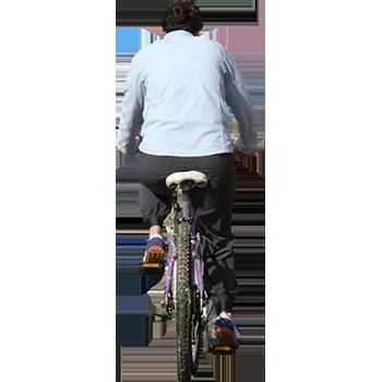 Imagenatives 0019 woman cycling cutout