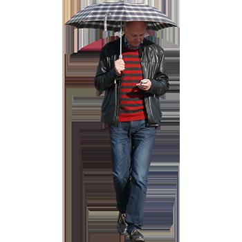 Imagenatives 0025 man with umbrella cutout