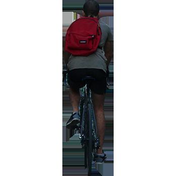 Imagenatives 0040 cyclist cutout